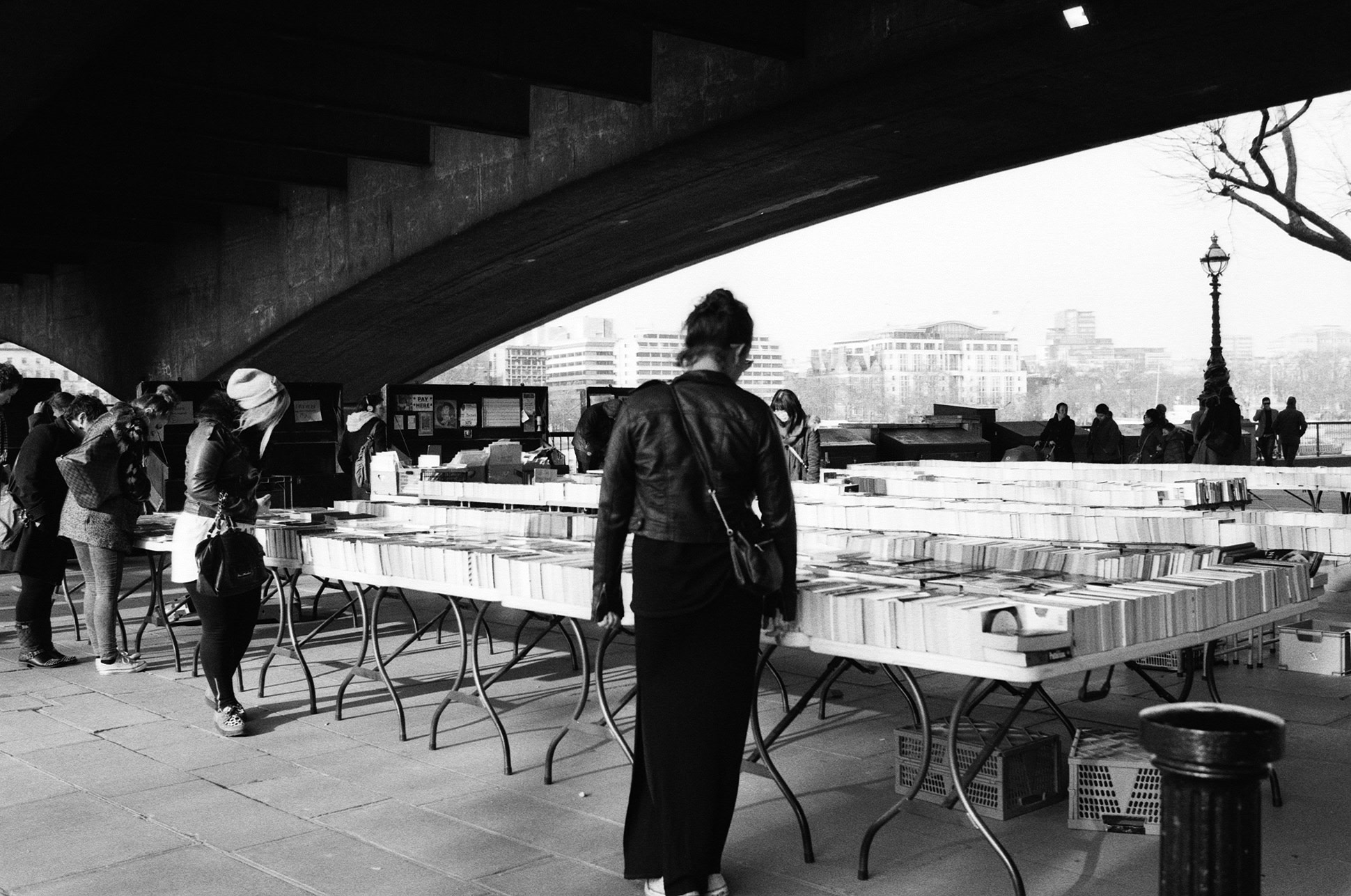 Photograph Southbank Center book market by Ilva Ferretti on 500px