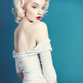 Steph Kehoe as Marilyn Monroe