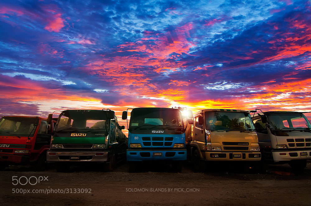 Photograph The Truck or Tranformer by pick chon on 500px