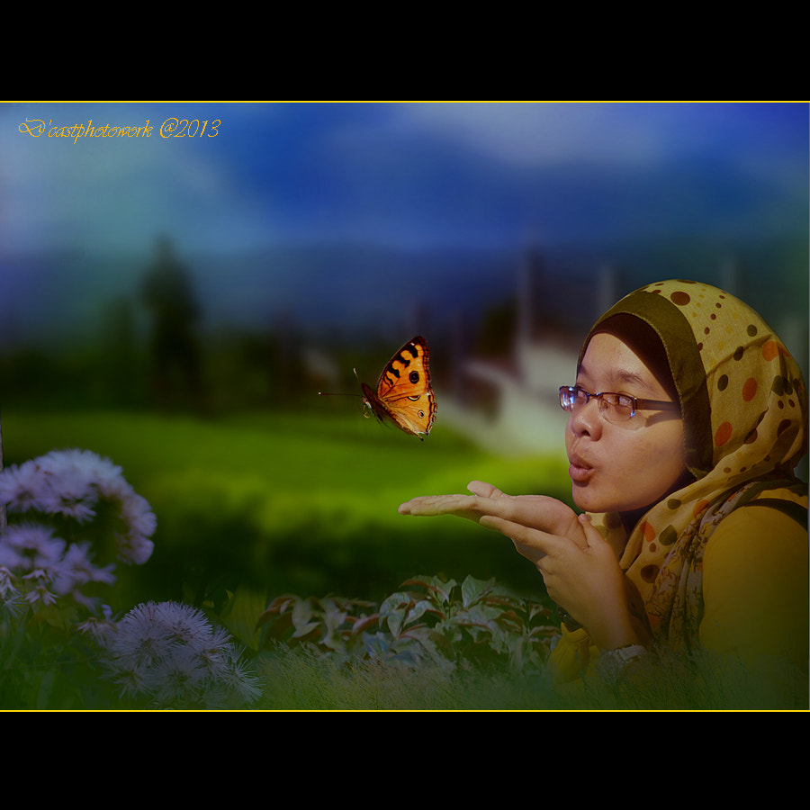Photograph Playing with Butterfly by D'cast Photowork on 500px