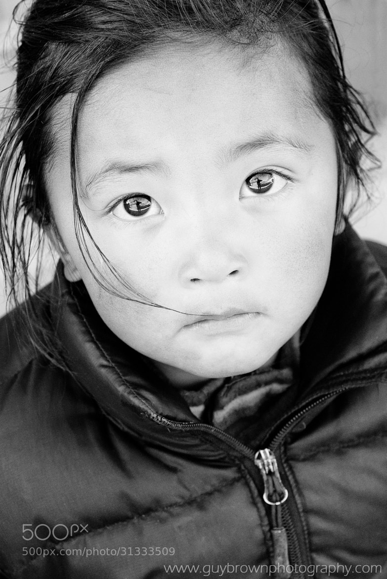 Photograph Nepalese girl by Guy Brown on 500px