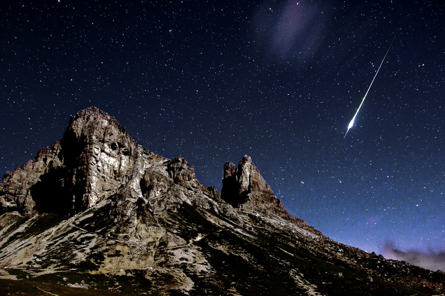 Photograph shooting star by Jack Rosatelli on 500px