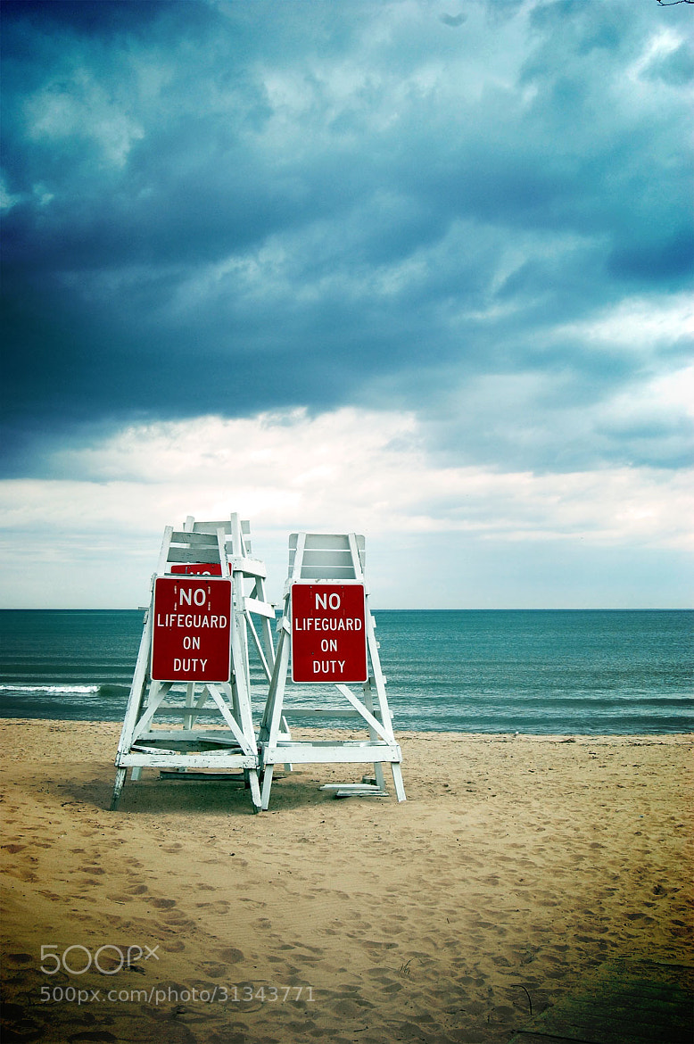Photograph No Lifeguard on Duty by Lauren Coleman on 500px