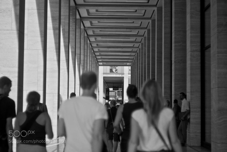 Photograph Perspective through corridor by Nandan Joshi on 500px