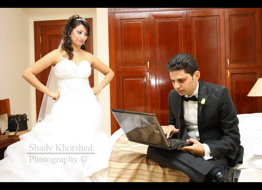 Photograph Changing his relationship status to Married by Shady Khorshed on 500px
