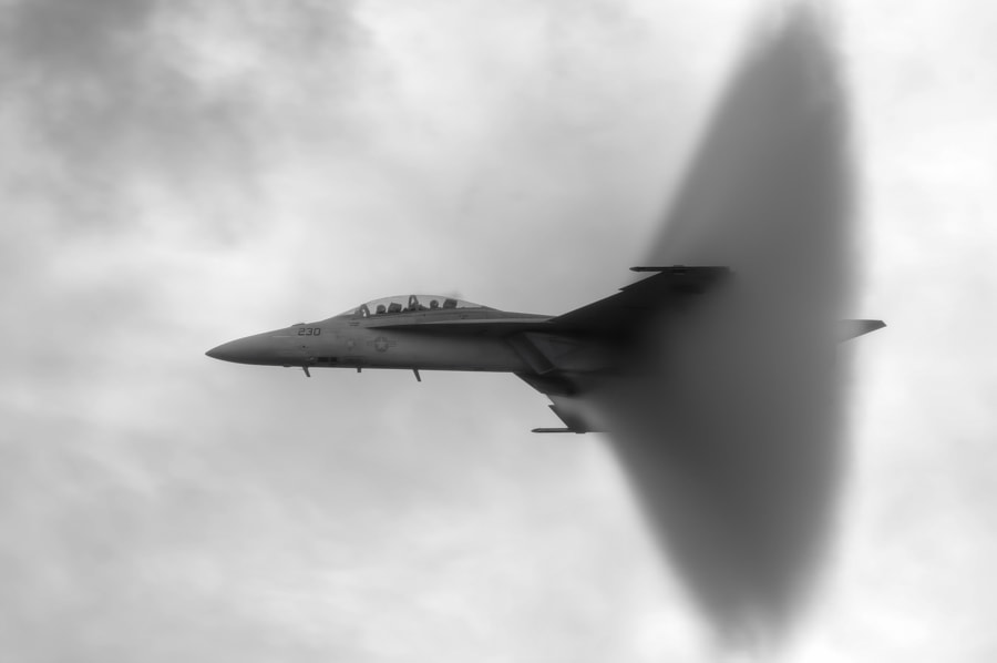 Super Hornet Shockwave by Chris Buff on 500px.com