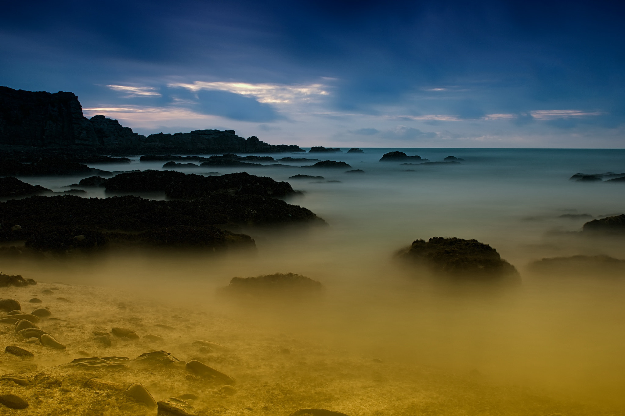 Photograph Sunset Beach, Port Waikato, New Zealand by Darryn Morgan on 500px