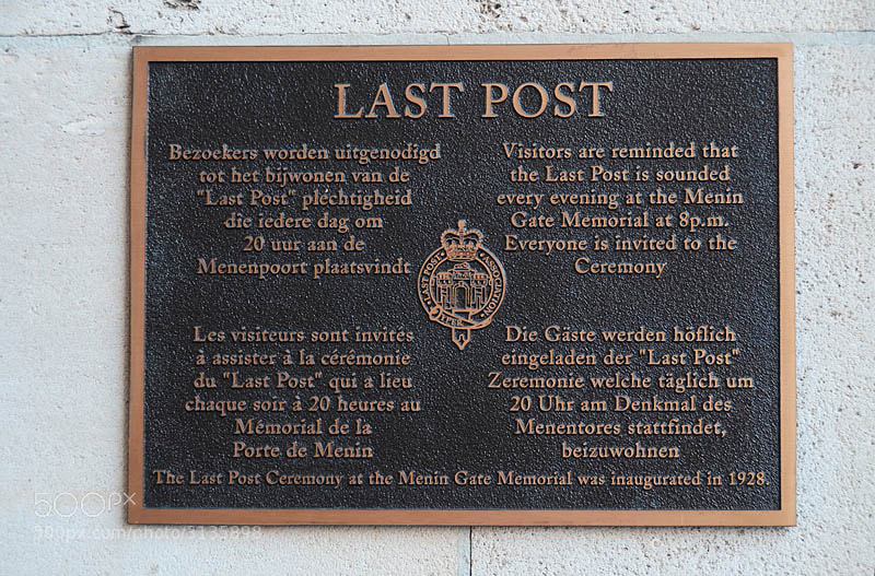Photograph LAST POST. REMEMBERANCE DAY... 11.11.2011 at 11 o'clock by Magda Indigo on 500px