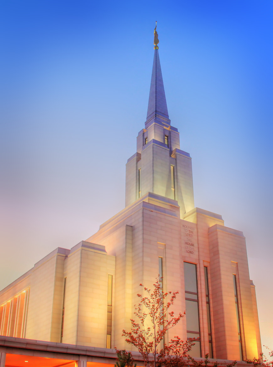 Photograph Oquirrh Mountain LDS Temple by Laura Bellamy on 500px