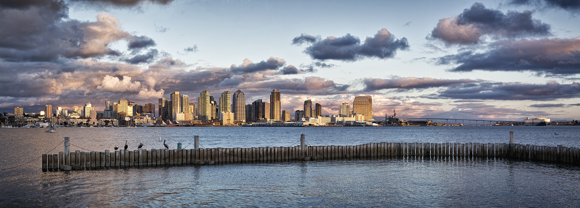 Photograph Downtown San Diego Pano by Daniel Seeks on 500px