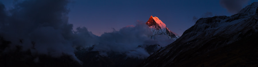 Photograph Machapuchare by Simon Christen on 500px