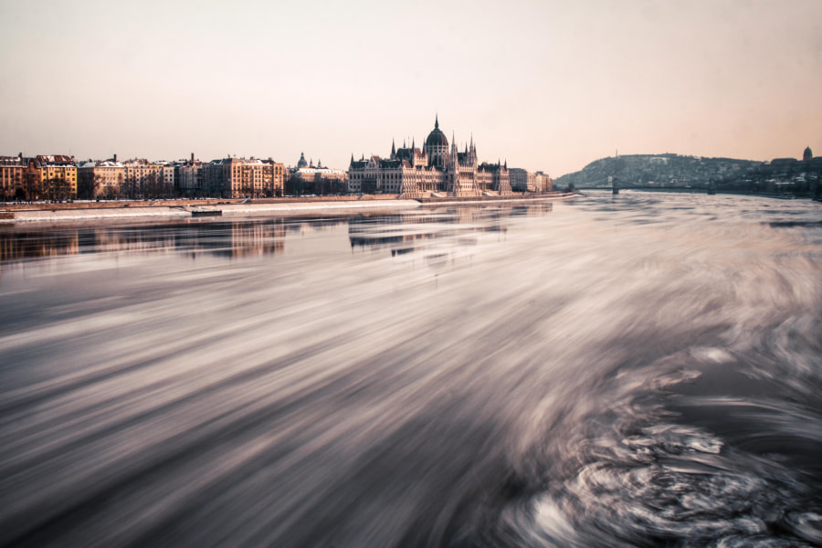 Photograph Budapest and ice on Danube River by Jacques Szymanski on 500px