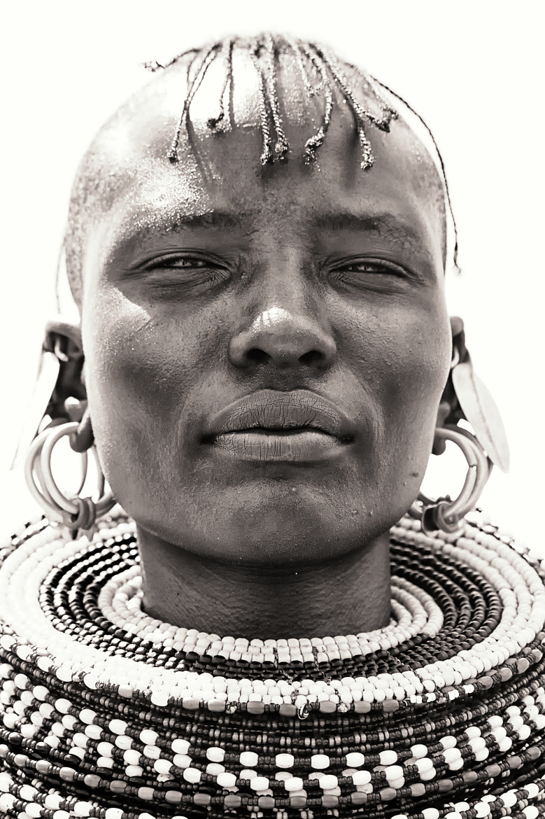 Photograph Turkana woman by Nicole Cambré on 500px
