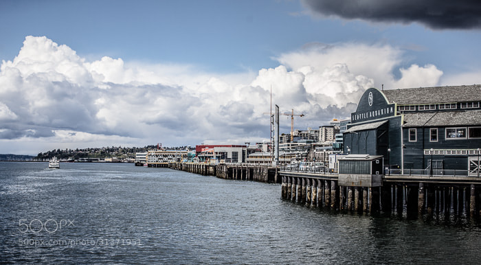 Photograph Seattle waterfront by Michael Williams on 500px