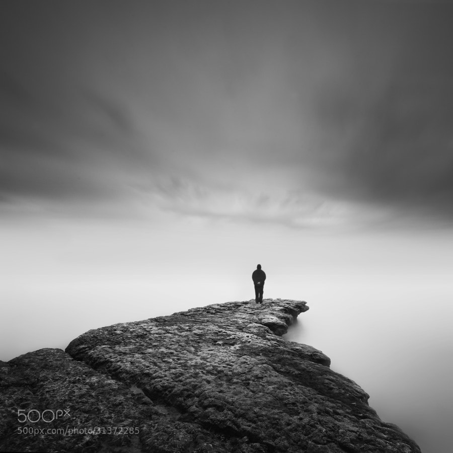Photograph self & rock II by Nathan Wirth on 500px