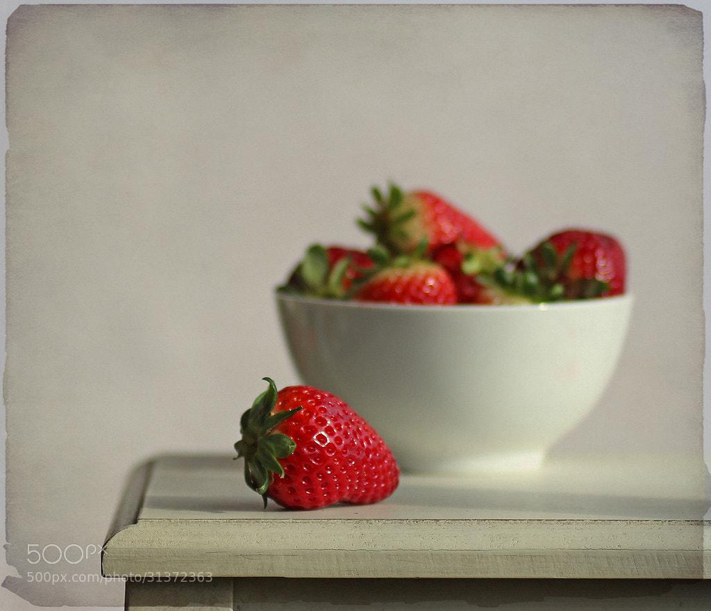 Photograph Strawberries.... by Belén Argüeso Castelos on 500px