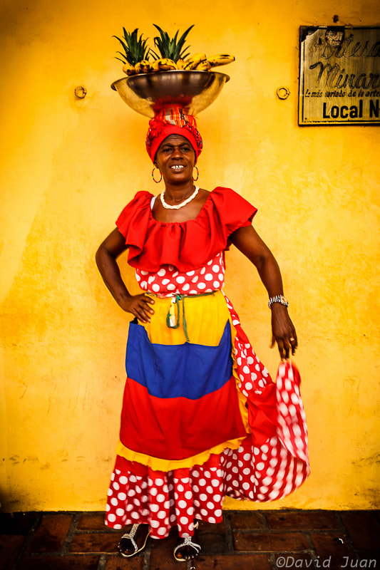 Photograph Palenquera by David Juan on 500px