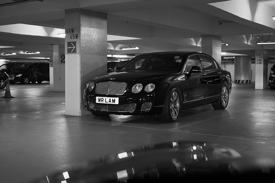 Mr Lam's Bentley
