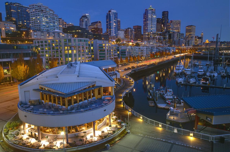 Photograph Bell Street Pier - Seattle by Paul Garrett on 500px