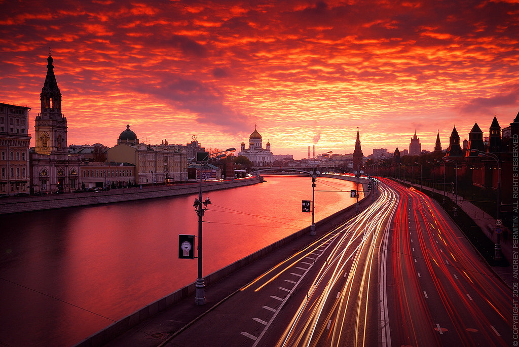 Photograph Red sunset by Andrey Permitin on 500px