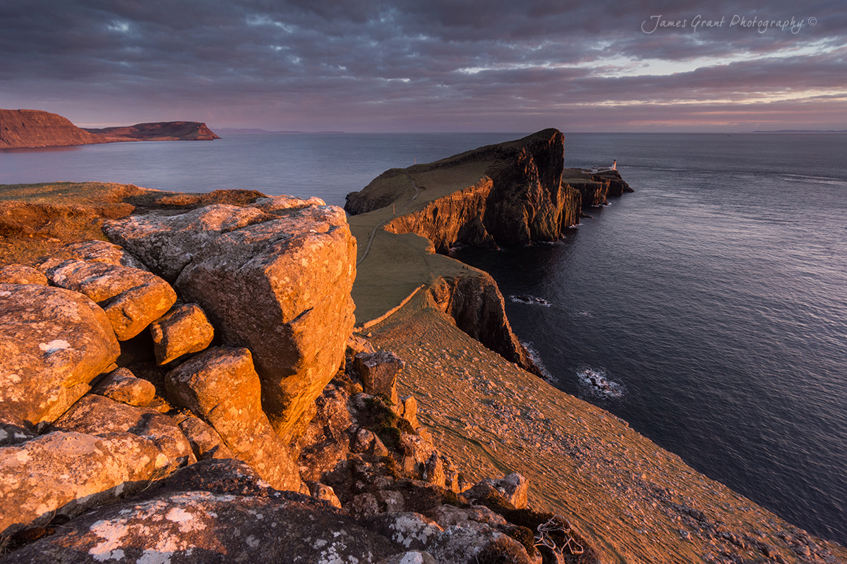Photograph Neist Point Sunset by James Grant on 500px