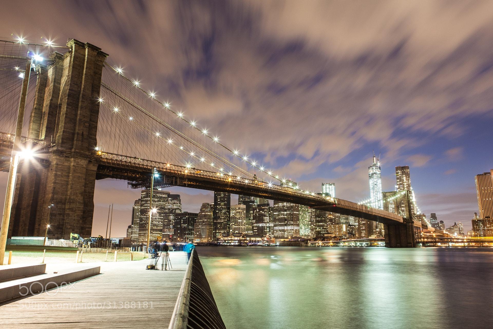 Photograph Brooklyn Bridge, NYC by Niklas Bayrle on 500px