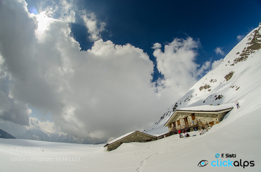 Photograph Alpe Tsa de Fontaney (Vallone di Saint-Barthélemy) by Francesco Sisti on 500px