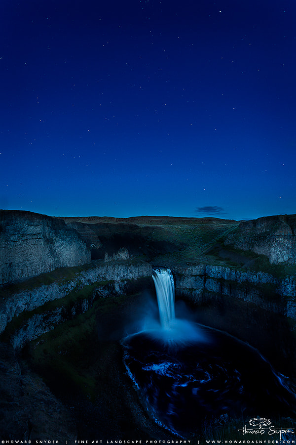Photograph Palouse Falls Twilight by Howard Snyder on 500px
