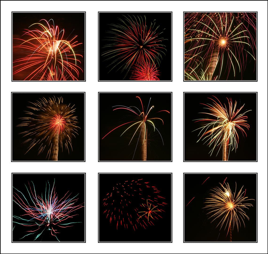 Photograph Firework montage by Robert Dray on 500px