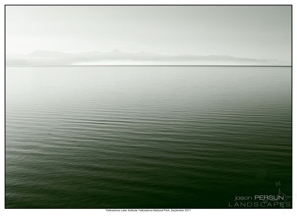 Photograph Yellowstone lake solitude 2 by Jason Persun on 500px