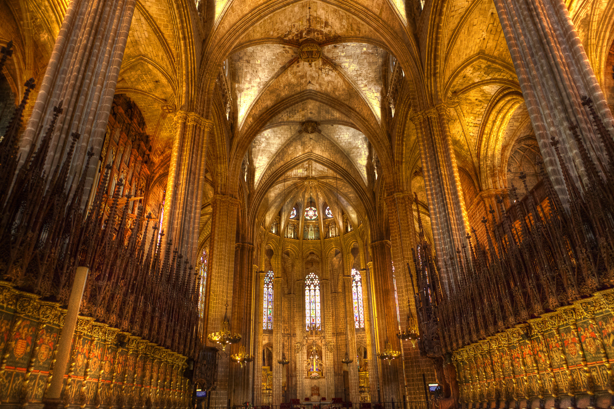 Photograph In the Barcelona Cathedral by Guy Prives on 500px