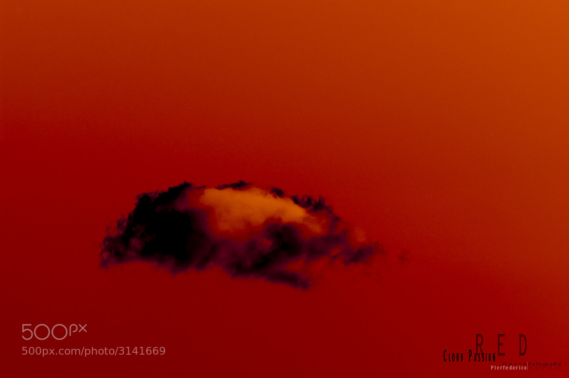 Photograph Red cloud by Pierfederico Garla on 500px