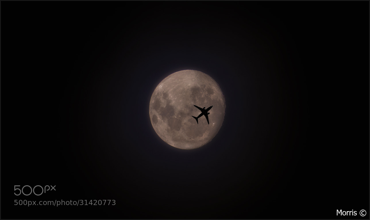 Photograph Fly me to the moon by Dave Morris on 500px