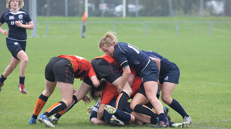 Photograph Rugby XV: The Netherlands versus Scotland by Ron Hendriks on 500px
