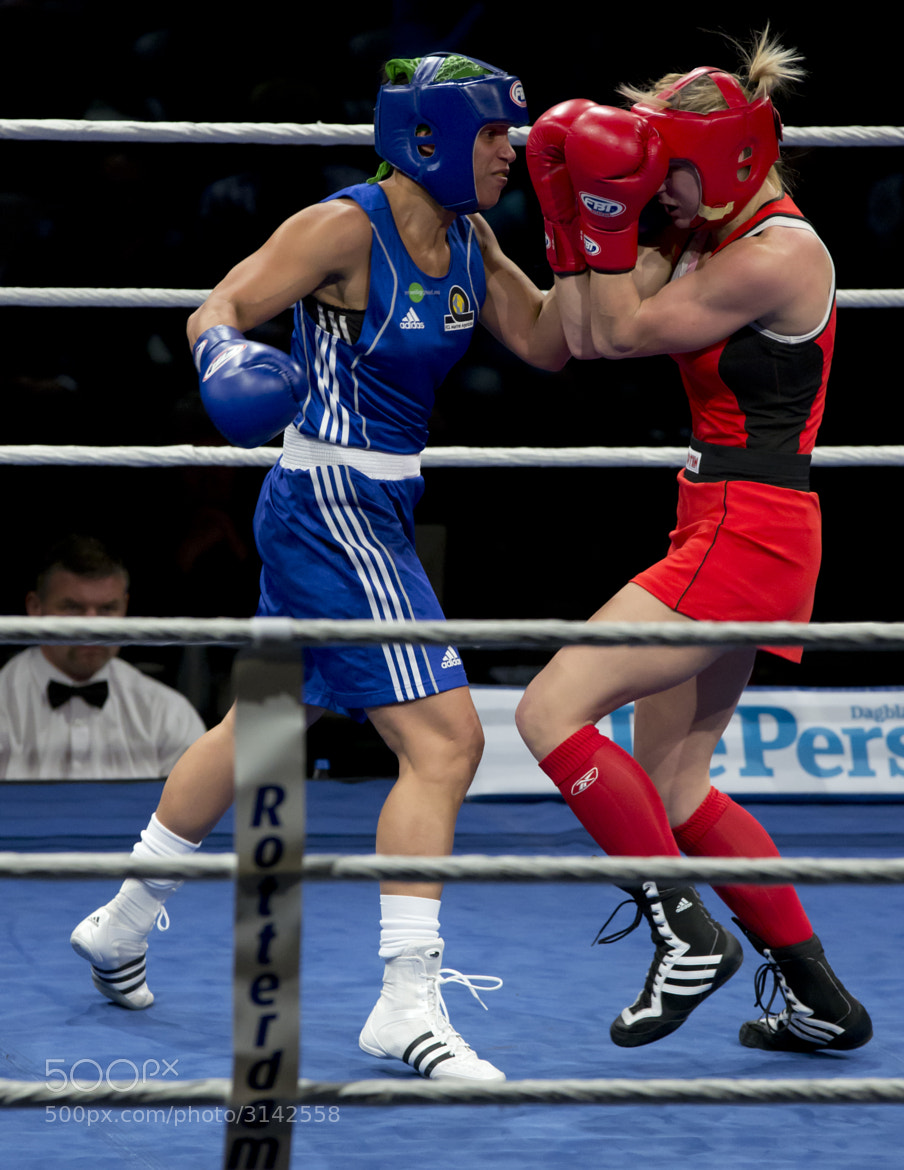 Photograph Marichelle de Jong - European Champion Boxing for Women by Ron Hendriks on 500px