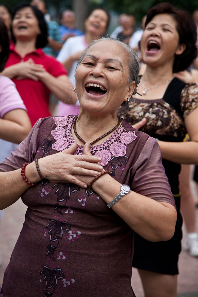 Photograph Laughing Yoga in Hanoi by Lisa Osta on 500px