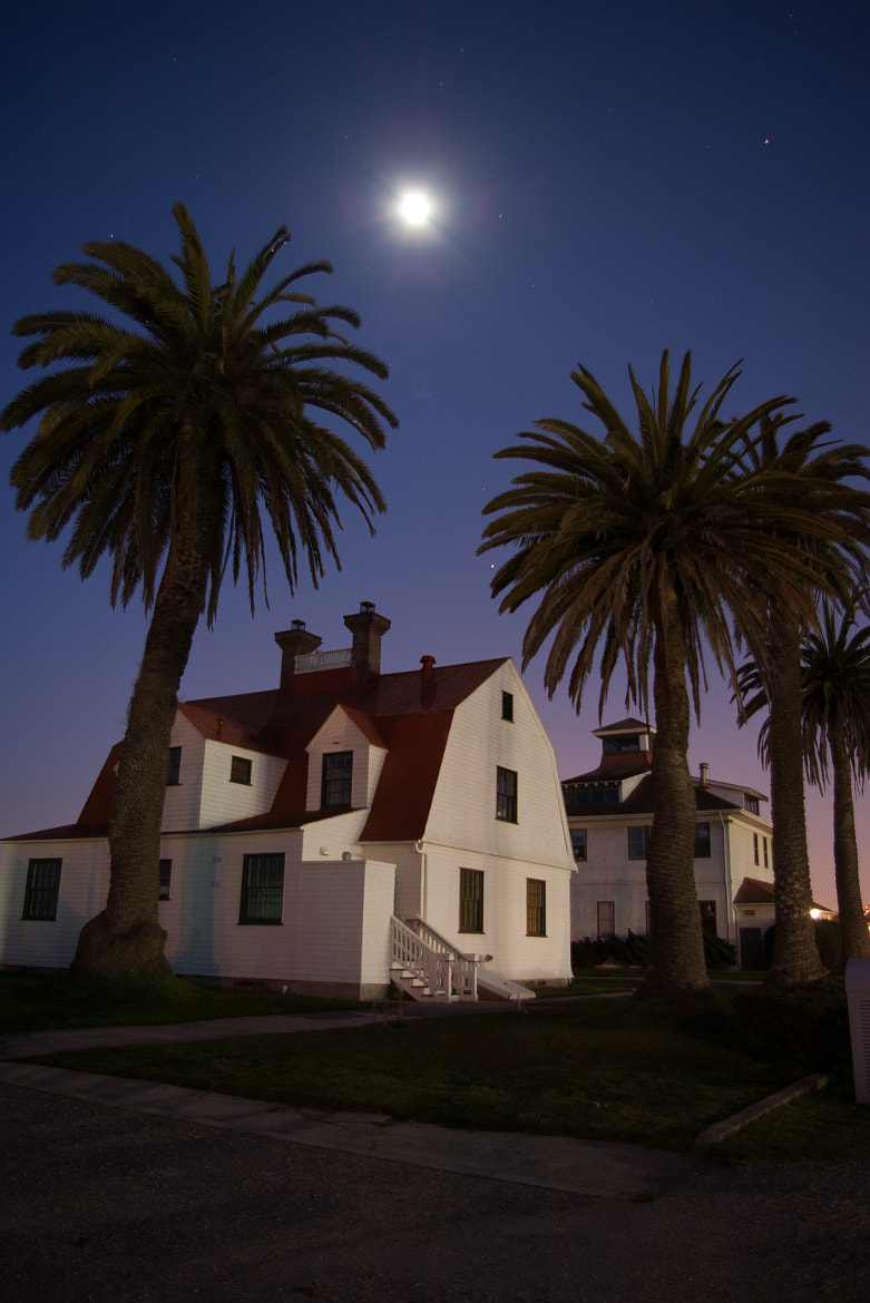 Photograph House under Moonlight by Randall Runtsch on 500px