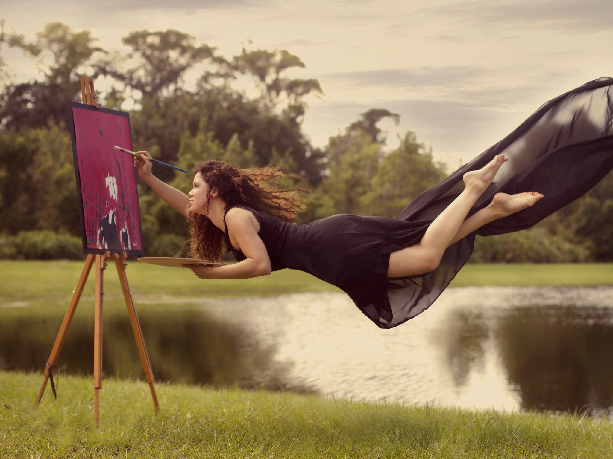 Photograph The Weightlessness of an Artist's Soul by Omalix  on 500px