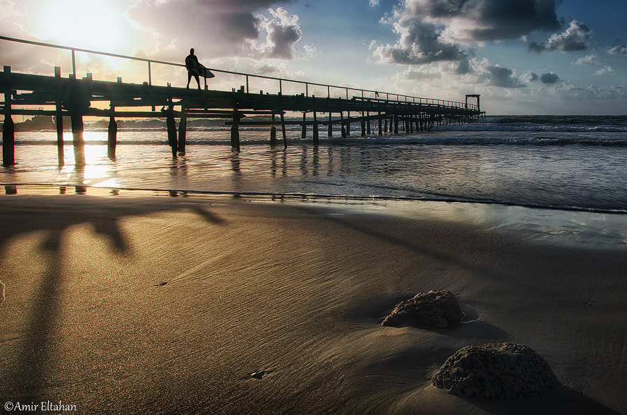 Photograph Surfer by Amir Eltahan on 500px