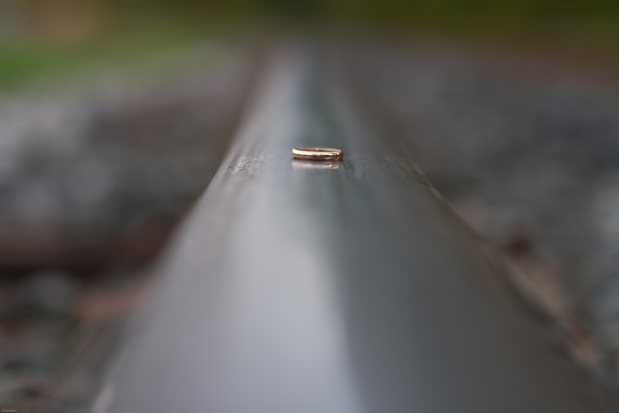 Photograph ring on the rail by Tom Rogula on 500px