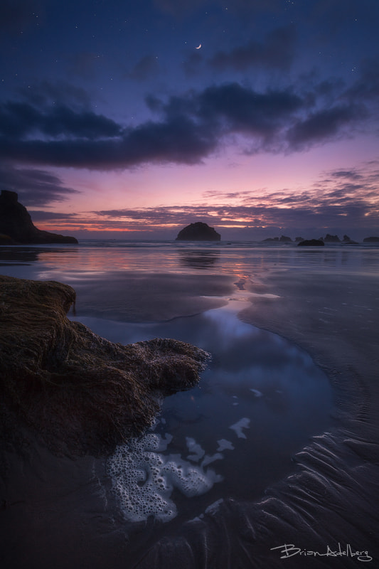 Photograph Bandon Twilight. by Brian Adelberg on 500px