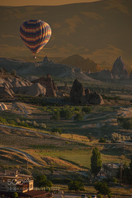 Photograph Follow the balloon by César Asensio Marco on 500px