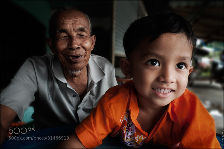 Photograph Grandpa and son by J.Luc Mourchou on 500px