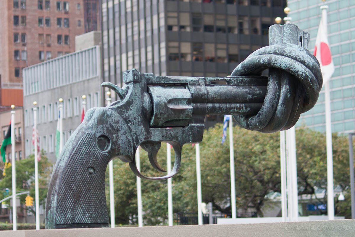 Photograph gUN statue by Stuart Crawford on 500px
