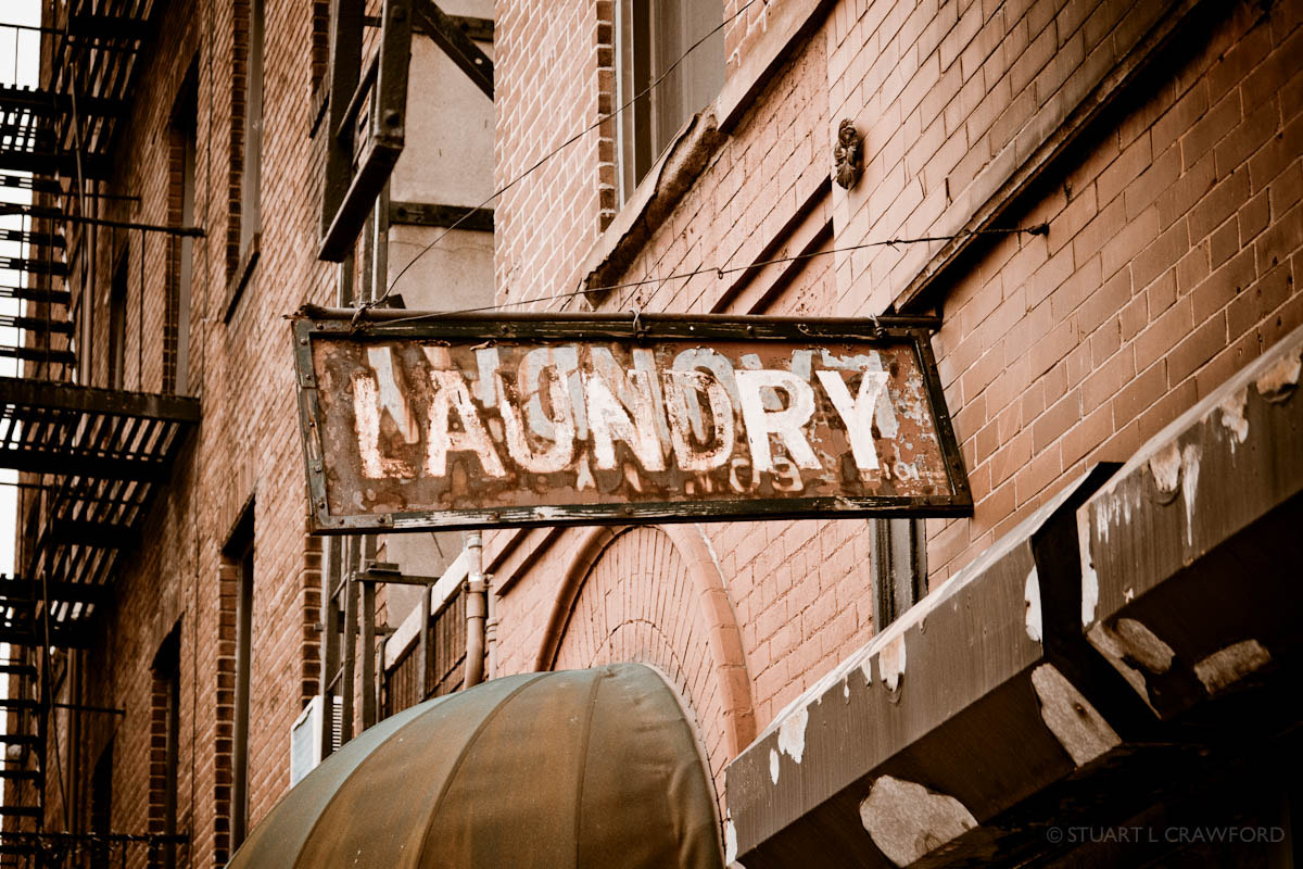 Photograph Laundry sign by Stuart Crawford on 500px