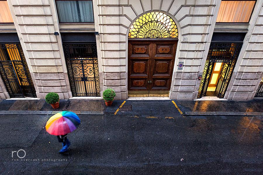 Raindrop's perspective