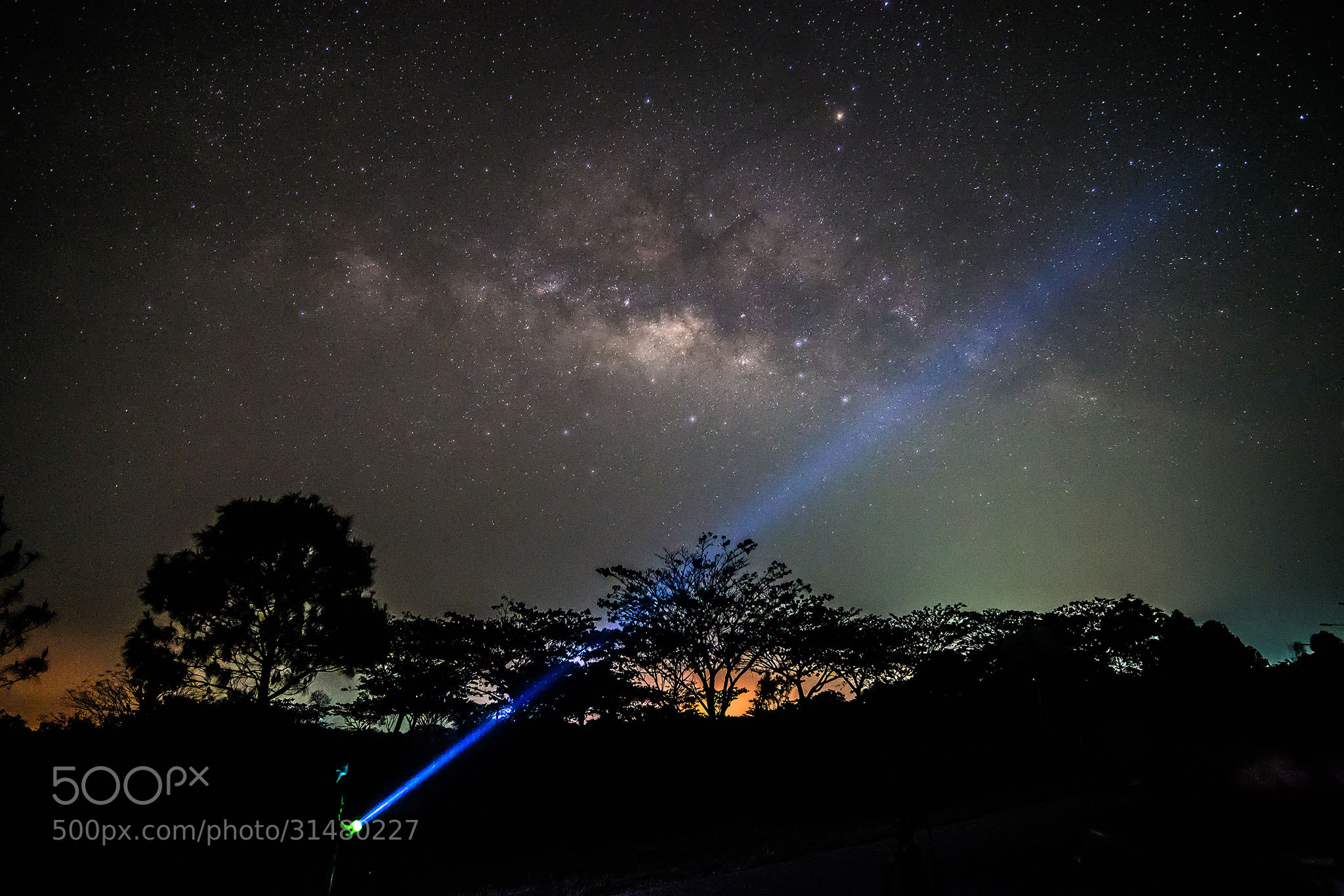 Photograph Milky Way by Mez Pinijpongphan on 500px