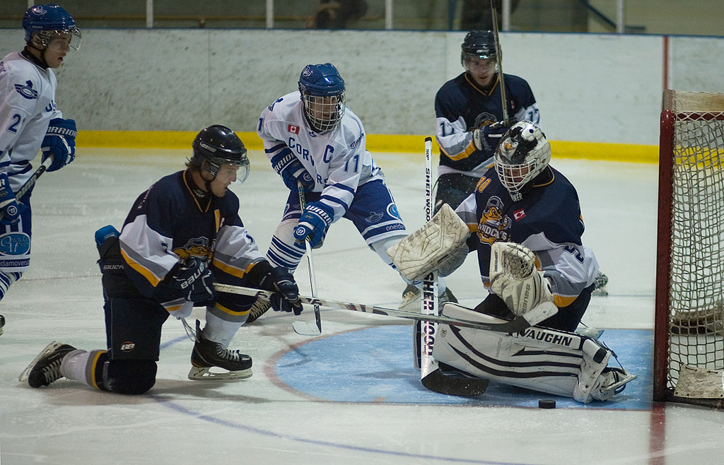 Photograph Caledonia Corvairs vs Dunnville Jr Mudcats  by Phil Armishaw on 500px