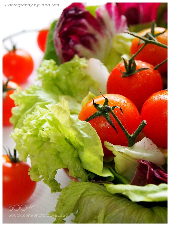 Photograph Fresh Veg. km  by Koh Min on 500px