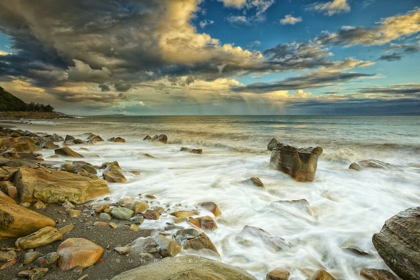 Photograph Rocky Shore @ Sunset 岩岸の暮 by SUNRISE@DAWN photography 風傳影像 on 500px